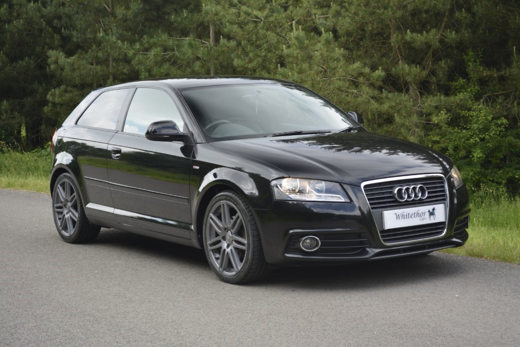 used Audi A3 TDI S LINE in leicestershire