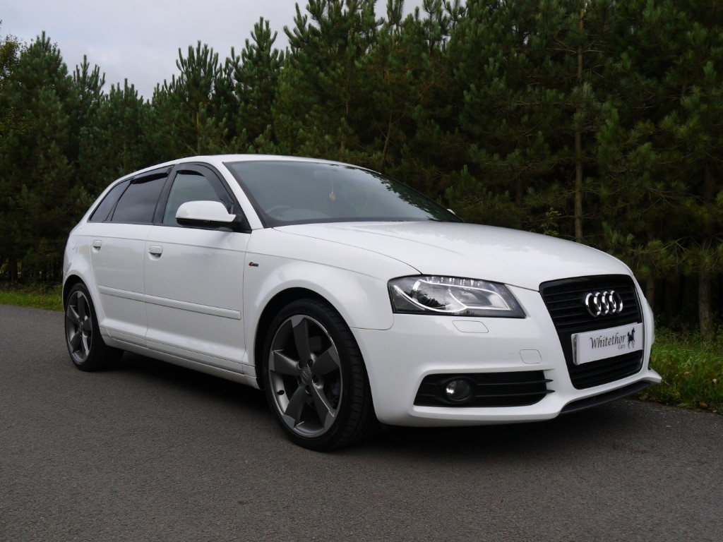 used Audi A3 SPORTBACK TDI S LINE SE in leicestershire