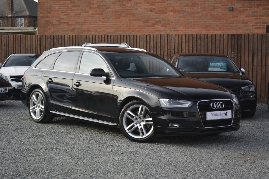 used Audi A4 AVANT TDI S LINE NAV in leicestershire