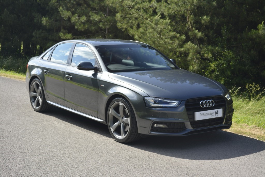 used Audi A4 TDI S LINE BLACK EDITION in leicestershire