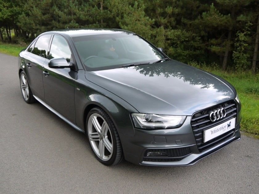 used Audi A4 TDI S LINE START/STOP in leicestershire