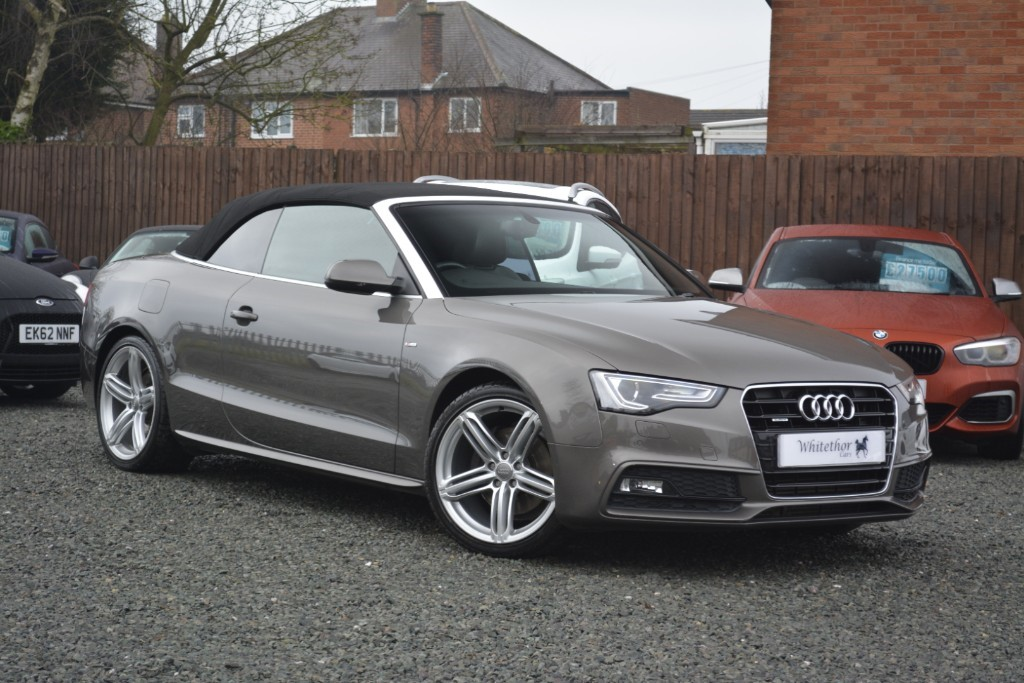 used Audi A5 TFSI QUATTRO S LINE SPECIAL EDITION in leicestershire