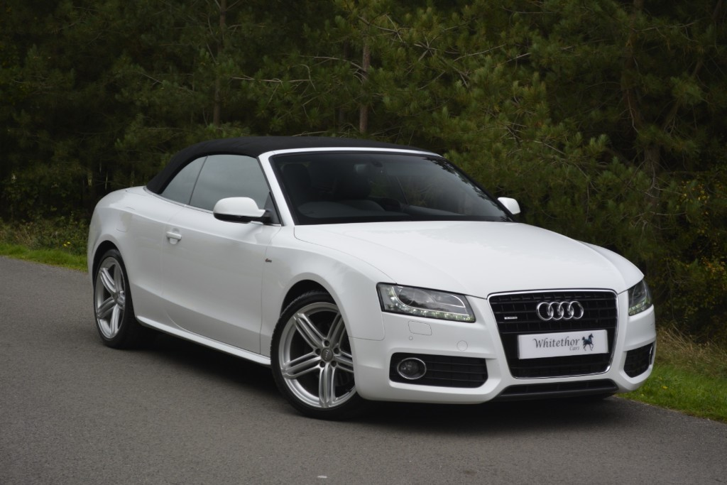 used Audi A5 TDI QUATTRO S LINE in leicestershire