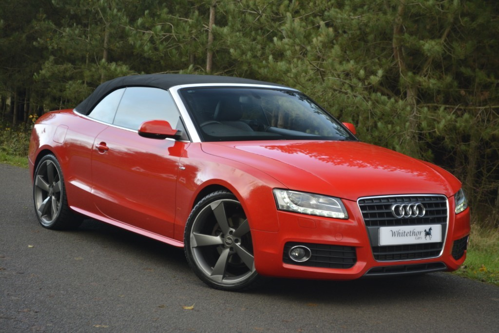 used Audi A5 TDI S LINE in leicestershire