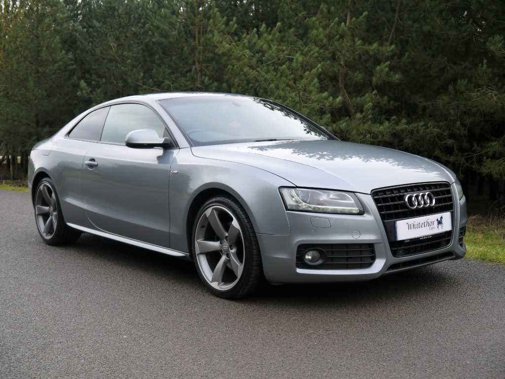 used Audi A5 TFSI S LINE BLACK EDITION in leicestershire