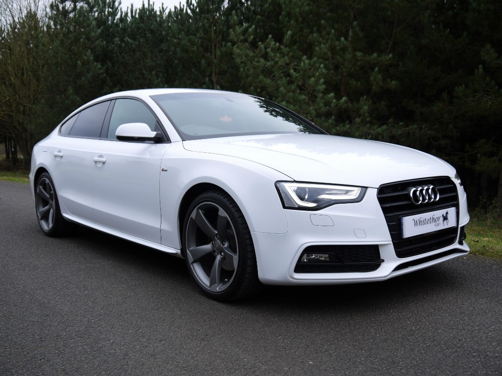 used Audi A5 SPORTBACK TDI S LINE BLACK EDITION S/S in leicestershire