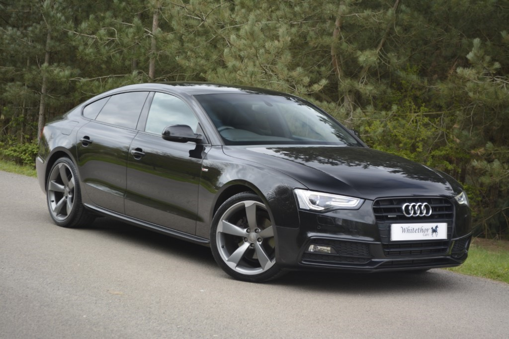 used Audi A5 SPORTBACK TDI QUATTRO S LINE BLACK ED in leicestershire