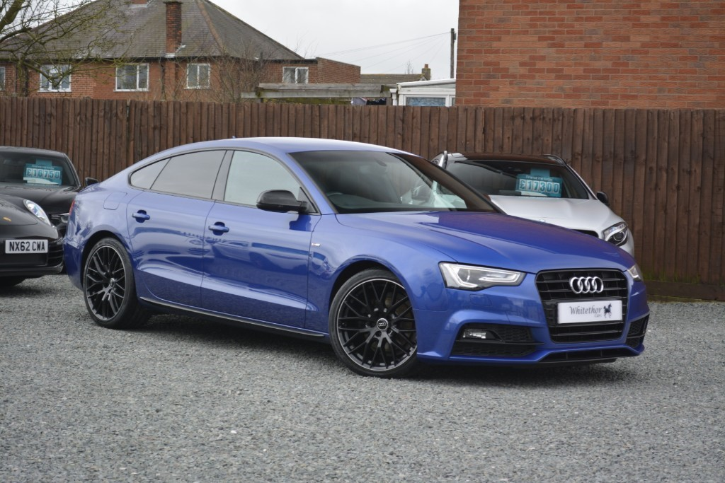 used Audi A5 TDI S LINE BLACK EDITION PLUS in leicestershire
