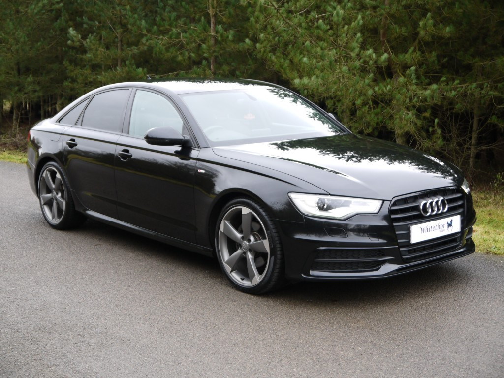 used Audi A6 TDI S LINE BLACK EDITION in leicestershire