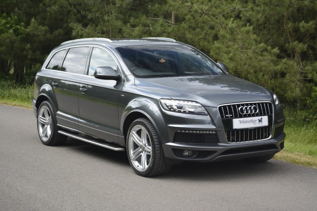 used Audi Q7 TDI QUATTRO S LINE PLUS in leicestershire