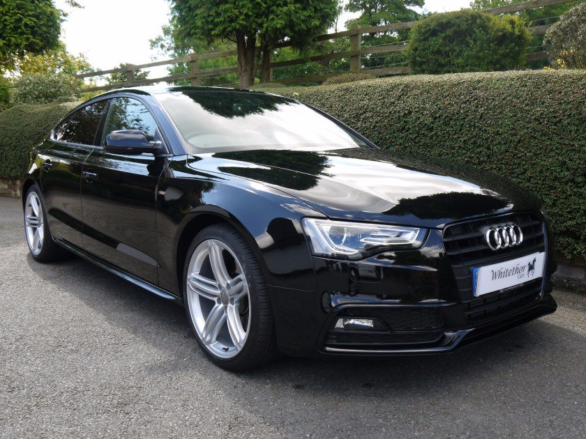 used Audi A5 TDI SPORTBACK QUATTRO S LINE in leicestershire