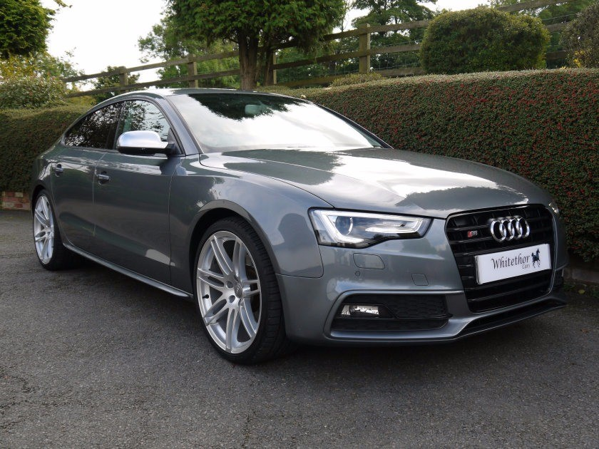 used Audi S5 SPORTBACK TFSI QUATTRO BLACK EDITION in leicestershire