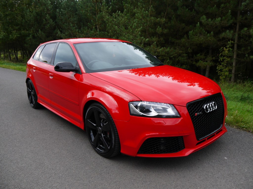 used Audi RS3 QUATTRO in leicestershire