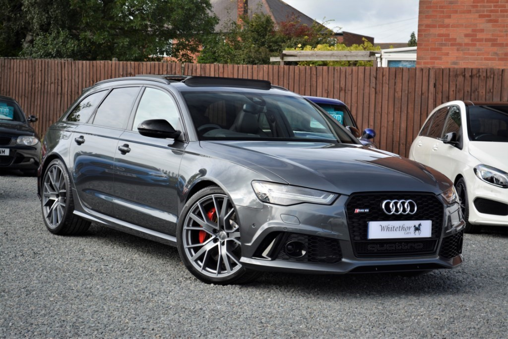 used Audi RS6 PERFORMANCE AVANT TFSI QUATTRO in leicestershire