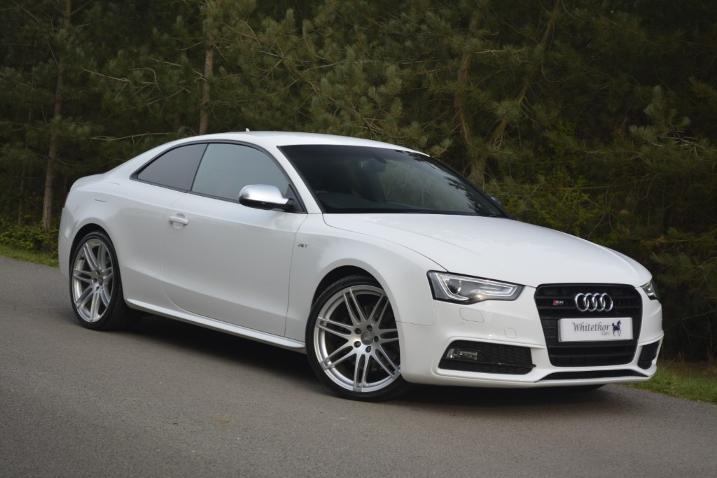 used Audi S5 TFSI QUATTRO S LINE BLACK EDITION in leicestershire