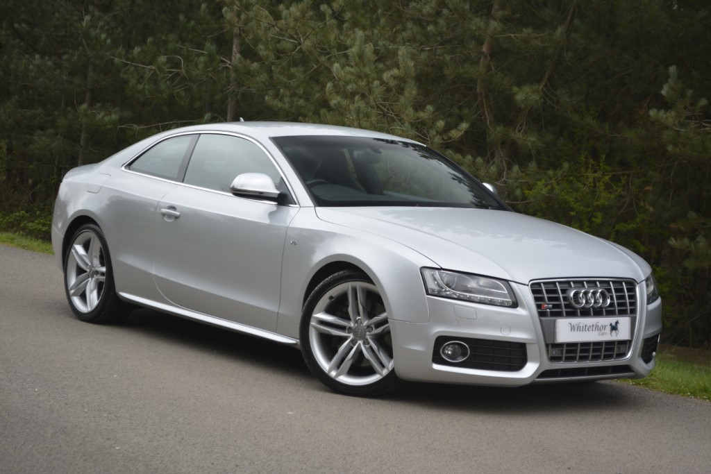 used Audi S5 V8 QUATTRO in leicestershire