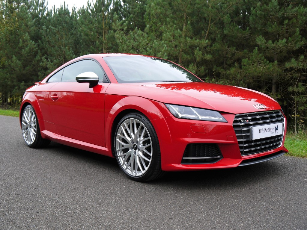 Used Tango Red Audi Tt For Sale Leicestershire