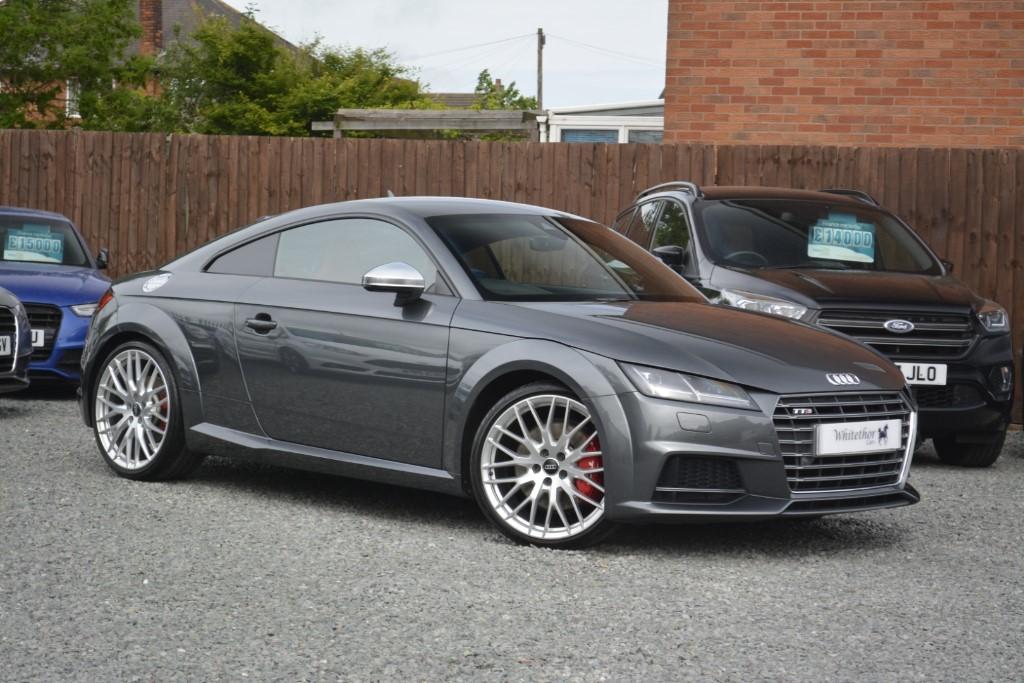 used Audi TT TTS TFSI QUATTRO in leicestershire
