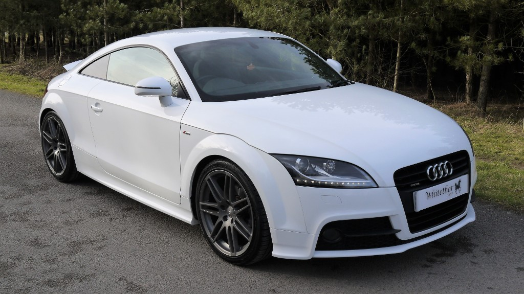 used Audi TT TFSI QUATTRO S LINE BLACK EDITION in leicestershire