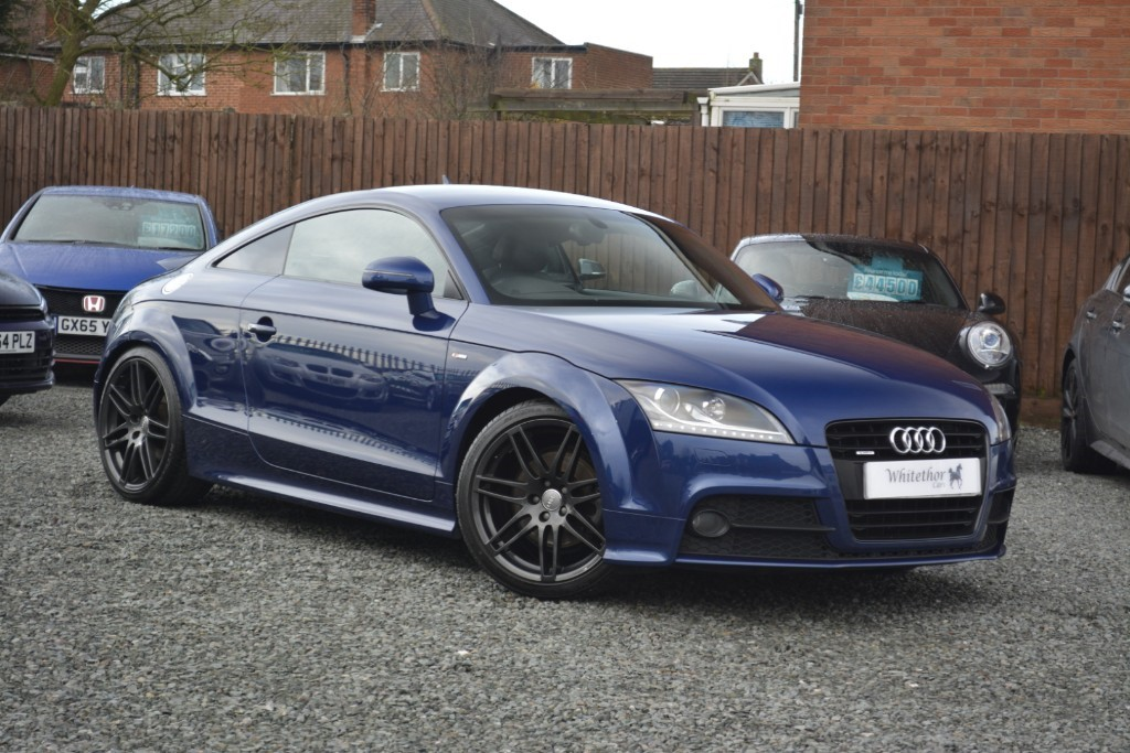 used Audi TT TFSI QUATTRO BLACK EDITION in leicestershire