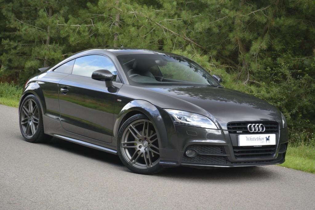used Audi TT TDI QUATTRO BLACK EDITION in leicestershire