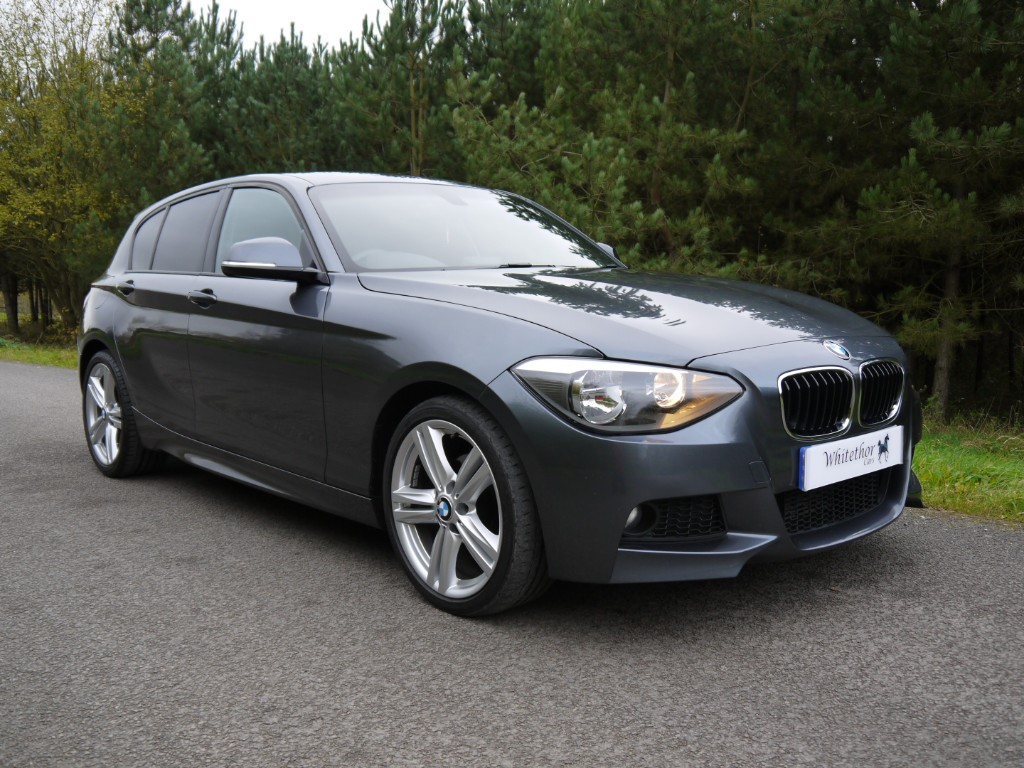 used BMW 118d 118D M SPORT in leicestershire