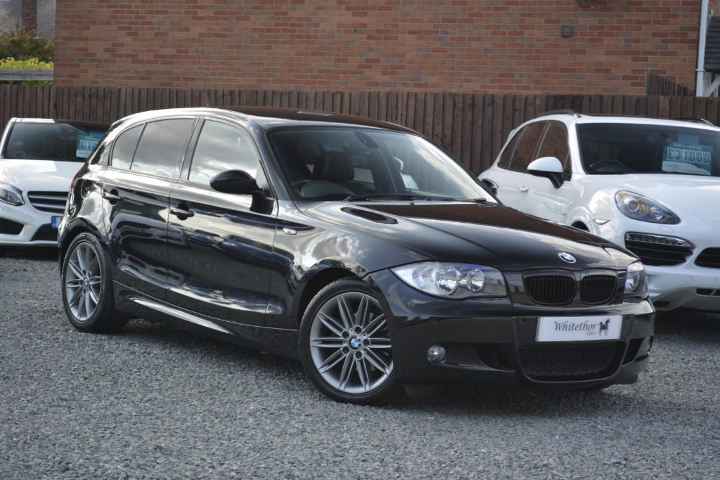 used BMW 118d M SPORT in leicestershire