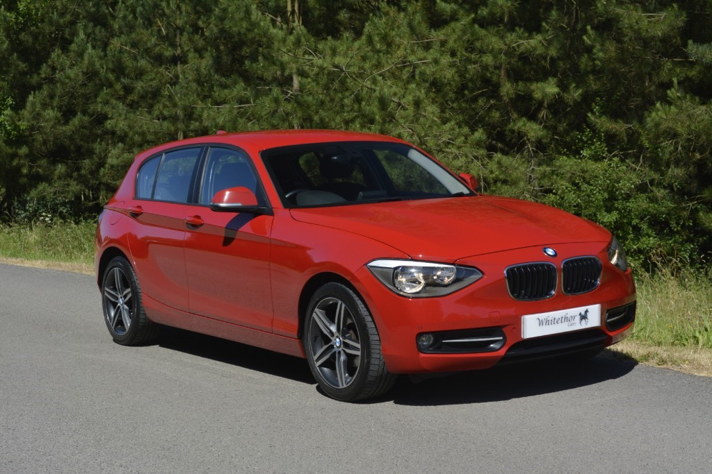 used BMW 118d SPORT in leicestershire