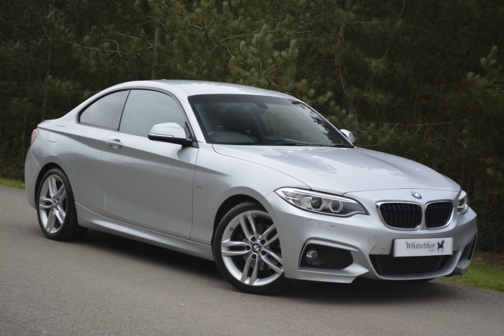 used BMW 220d M SPORT in leicestershire