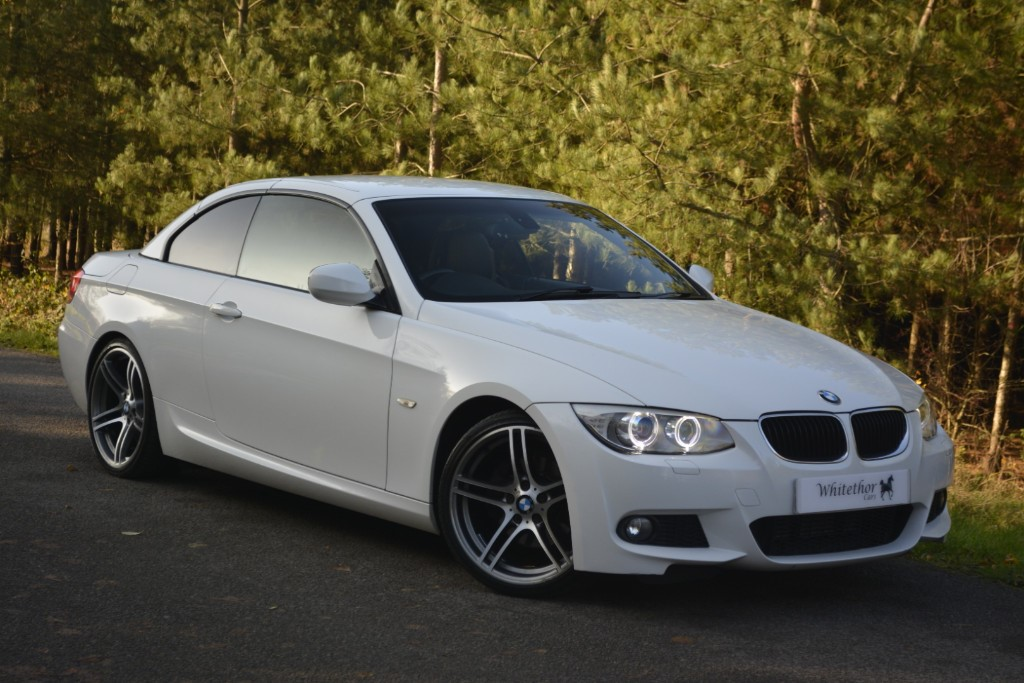 used BMW 320d M SPORT in leicestershire
