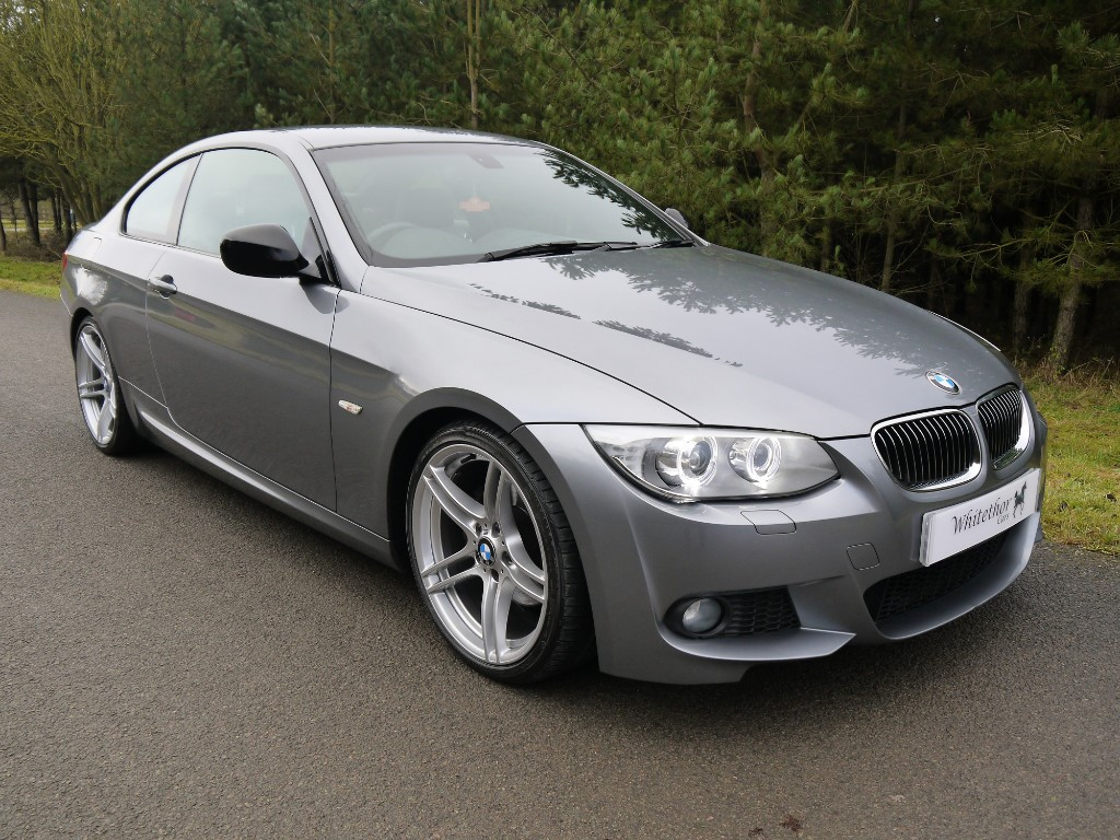 used BMW 320d SPORT PLUS EDITION in leicestershire