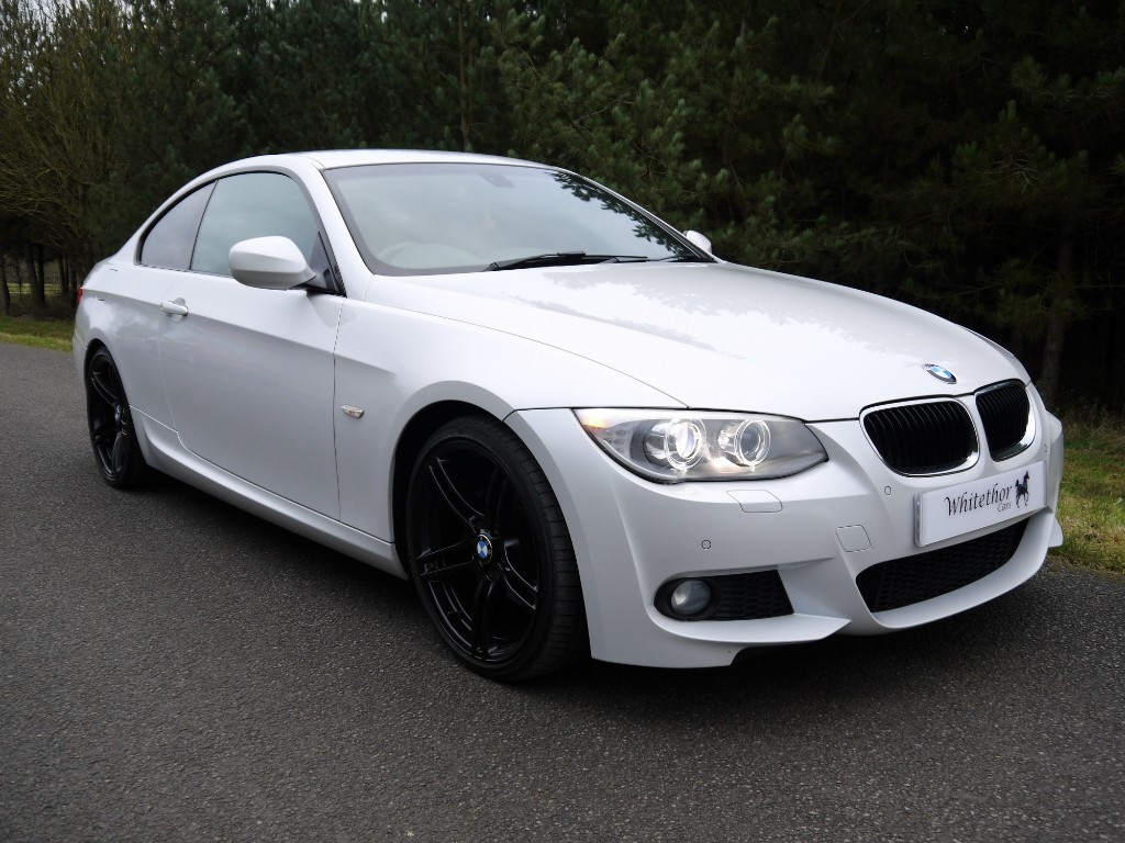 used BMW 320d 320D M SPORT in leicestershire