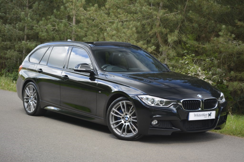 used BMW 320d M SPORT TOURING in leicestershire