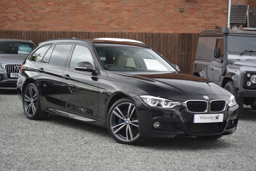 used BMW 320d XDRIVE M SPORT TOURING in leicestershire