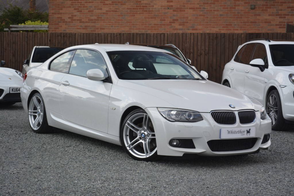 used BMW 325d M SPORT in leicestershire
