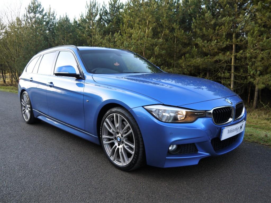 Used Estoril Blue Metallic BMW D For Sale Leicestershire - 330d bmw