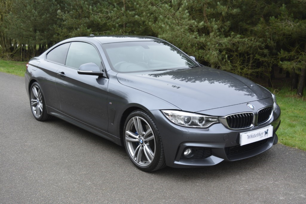 used BMW 420d M SPORT in leicestershire