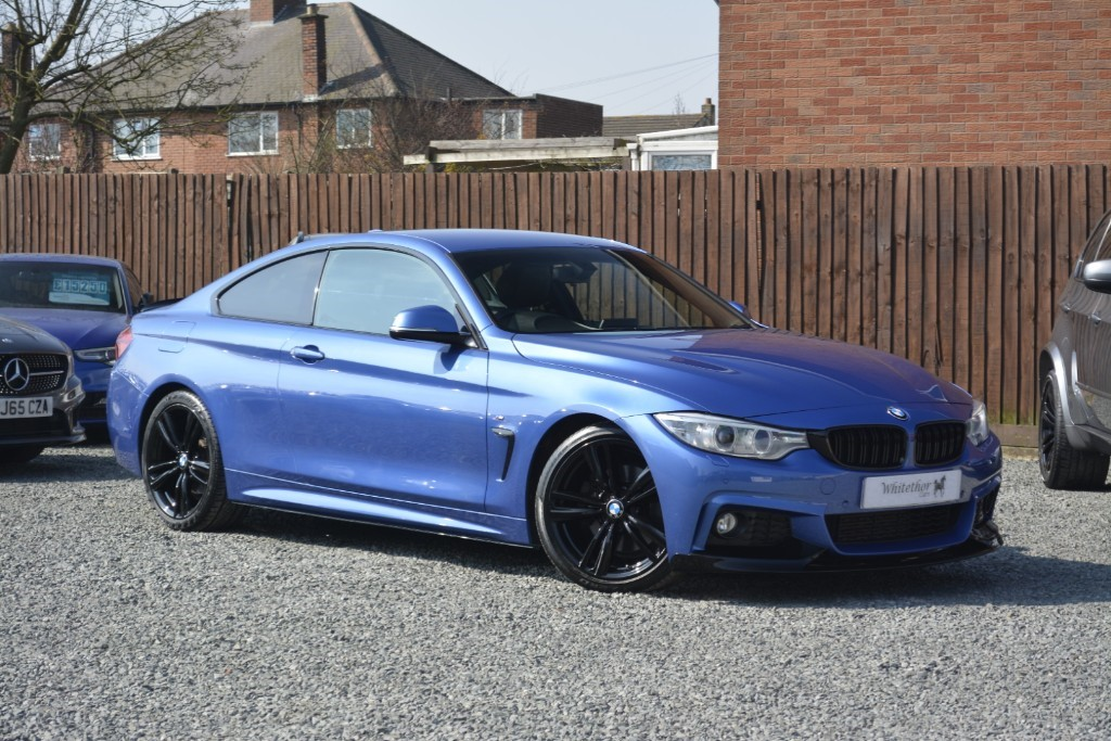 used BMW 428i M SPORT in leicestershire