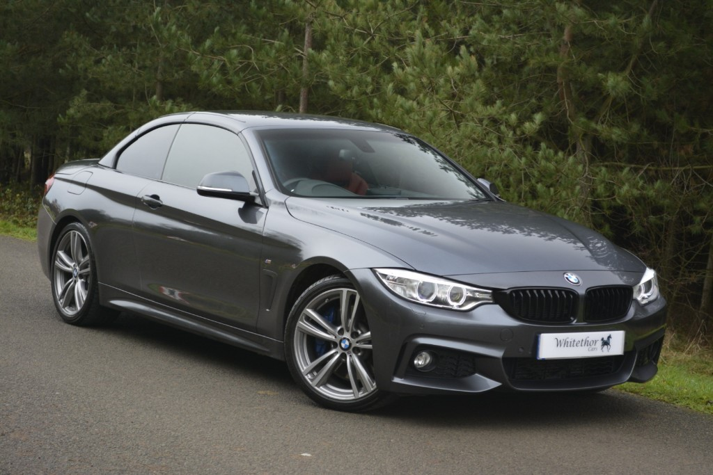 used BMW 430d M SPORT in leicestershire