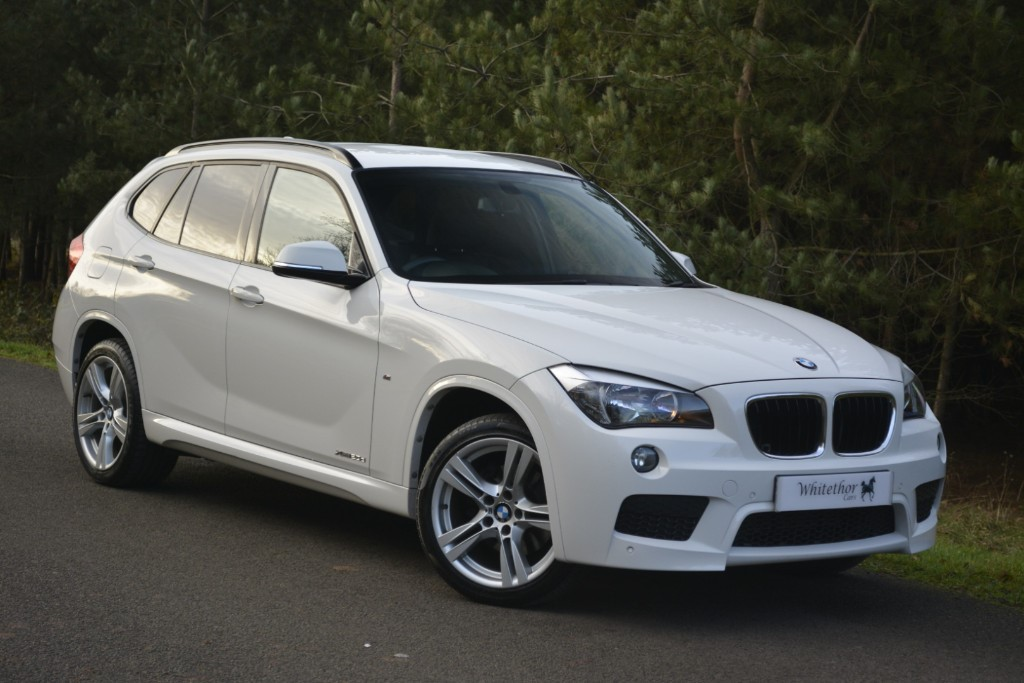 used BMW X1 XDRIVE20D M SPORT in leicestershire