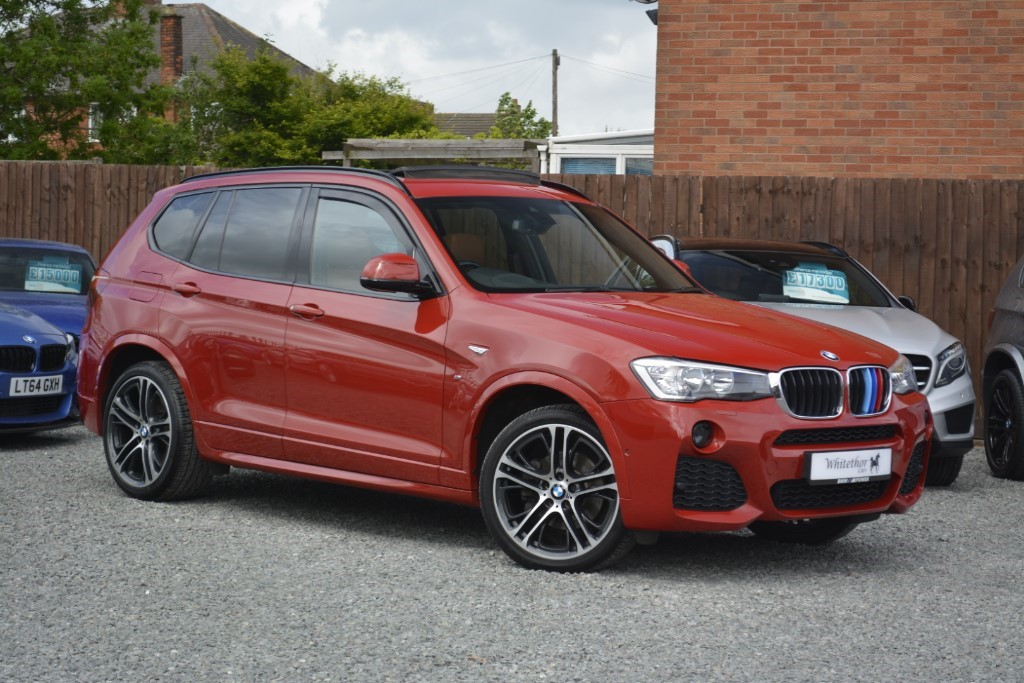 used BMW X3 XDRIVE20D M SPORT in leicestershire