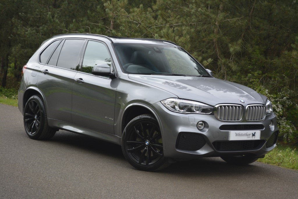 used BMW X5 XDRIVE40D M SPORT in leicestershire