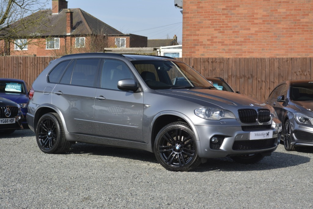 used BMW X5 XDRIVE30D M SPORT in leicestershire