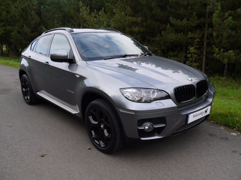used BMW X6 XDRIVE40D in leicestershire