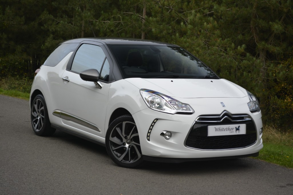used Citroen DS3 PURETECH DSTYLE PLUS S/S in leicestershire