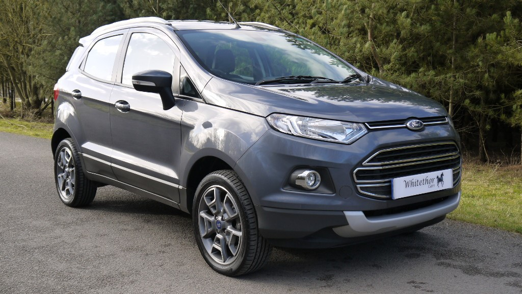 used Ford EcoSport TITANIUM X-PACK in leicestershire