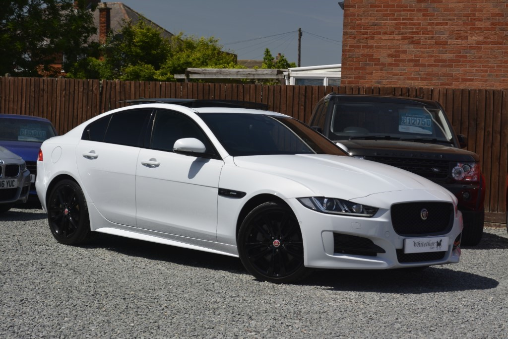 used Jaguar XE R-SPORT AWD in leicestershire