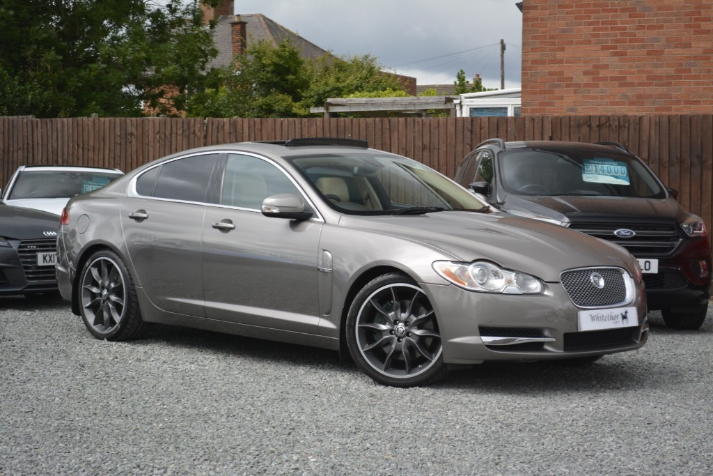 used Jaguar XF SV8 in leicestershire