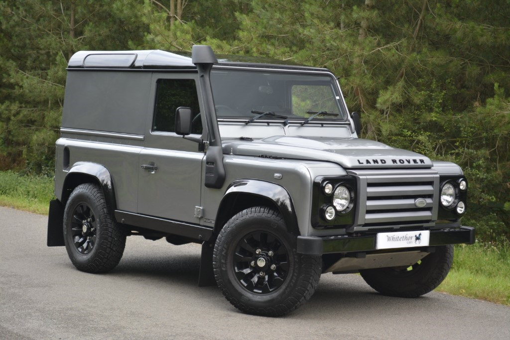 used Land Rover Defender TD X-TECH LE HARD TOP in leicestershire