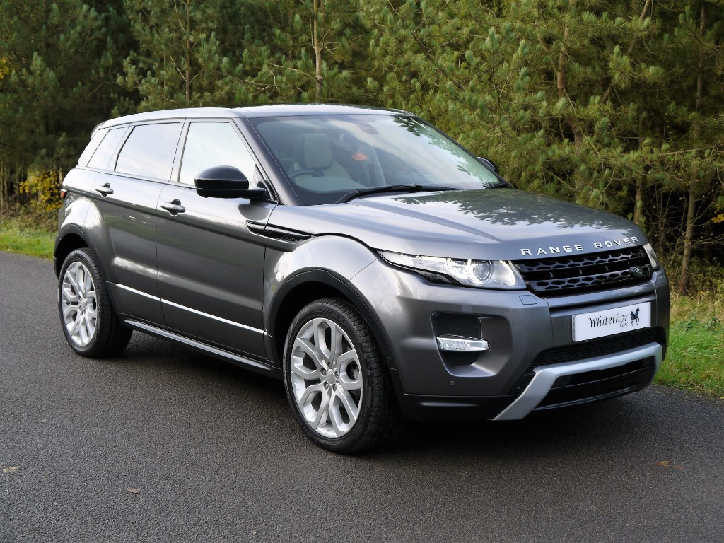 used Land Rover Range Rover EVOQUE SD4 DYNAMIC LUX SD4 DYNAMIC LUX in leicestershire